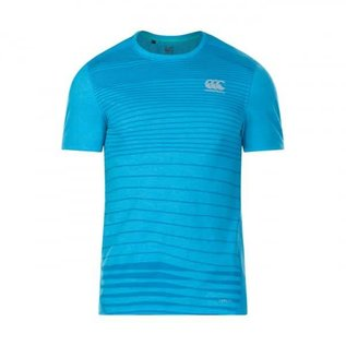 Canterbury Canterbury Mens Vapodri Performance Cotton T-Shirt, Blue Jewel Marl (2018)