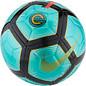 Nike Mercurial CR7 Aerowtrac Football, Turquoise, Size 5.