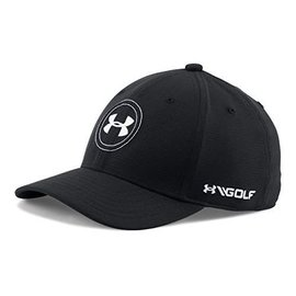 Under Armour Boys Official Tour Cap 2.0, Black/White (2018)