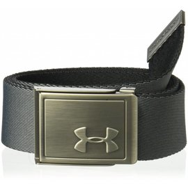 Under Armour Boys' Webbing 2.0 Belt, Black (2018)