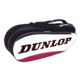 Dunlop Srixon Dunlop Srixon 8 Racket Bag, White/Black/Red (2018)