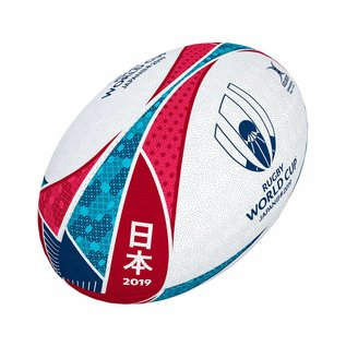 Gilbert Gilbert RWC 2019 Supporters Rugby Ball, 5