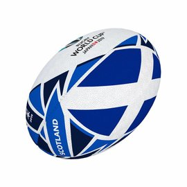Gilbert Gilbert RWC 2019 Scotland Flag Mini Rugby Ball