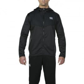 Canterbury Canterbury Thermoreg Spacer Fleece Full Zip Hoody, Black