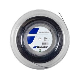 Babolat RPM Rough 125 Tennis String (Black) - 200m Reel