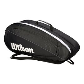 Wilson Wilson Fed Team 6 Racket Bag (2018)