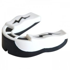 Shockdoctor Shock Doctor 1.5V Strapless Mouth Guard White/Black Adult