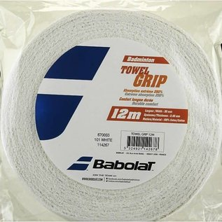 Babolat Babolat Towel Grip (12 Metre Roll) White