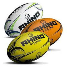 Rhino Cyclone Size 3&4 Rugby Balls