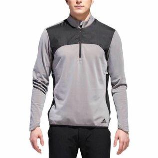 Adidas Adidas Mens Climaheat Frostguard 1/4 Zip Pullover, Grey/Black (2018)