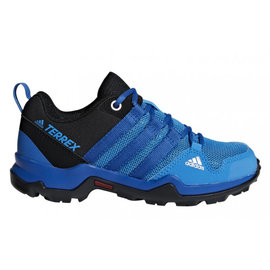 Adidas Adidas Terrex AX2R Junior Trail Shoe Blue (2018)