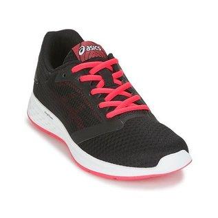 Asics Asics Patriot 10 Ladies Running Shoes (2018) Black/Pixel Pink