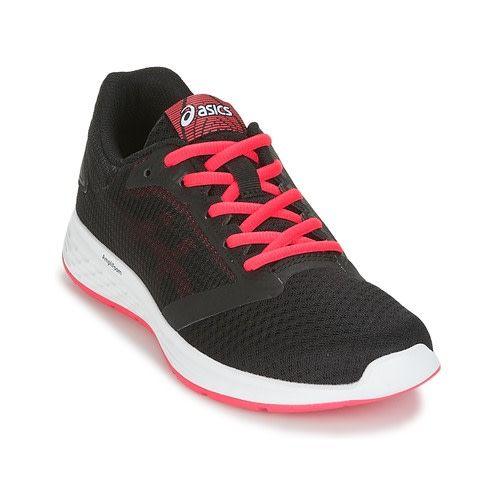 47645cc66 ... Asics Asics Patriot 10 Ladies Running Shoes (2018) Black/Pixel Pink