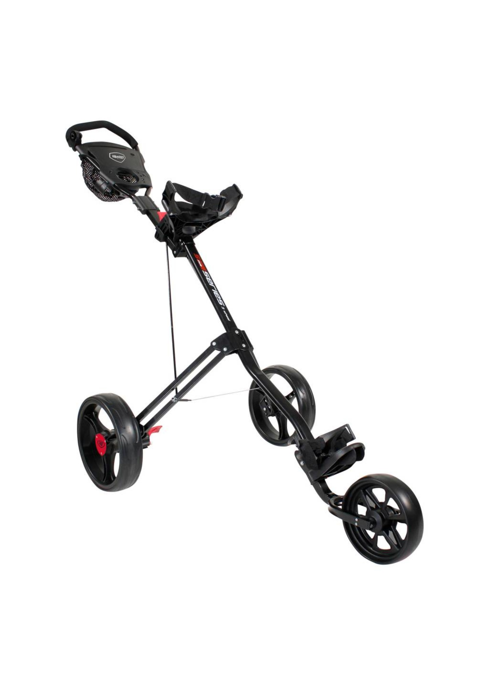 Masters Masters Five Series Three Wheeled Push Golf Trolley