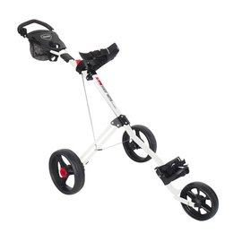 Masters Masters Five Series Three Wheeled Push Golf Trolley-White