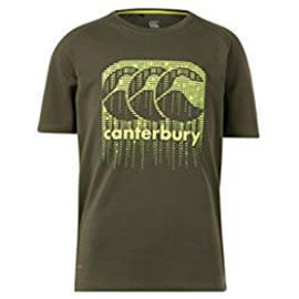 Canterbury Canterbury Vapodri Poly Large Logo Junior Tee (2018)
