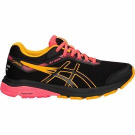 Asics Asics Ladies GT-1000 GTX Running Shoe, Black/Amber