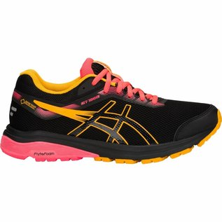 Asics Asics Ladies GT-1000 GTX Running Shoe, Black/Amber