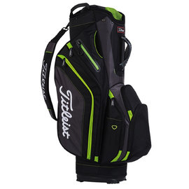 Titleist Titleist Lightweight Golf Cart Bag Black/Grey/Lime 10
