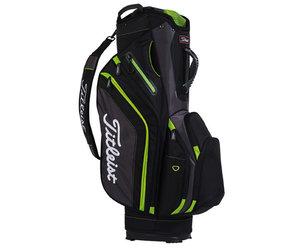 af14439ebe Titleist Lightweight Golf Cart Bag Black/Grey/Lime - Gannon Sports