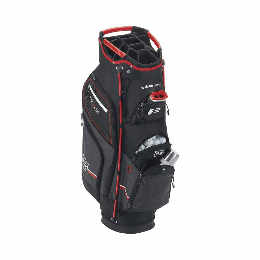 359d10ac14 Wilson Nexus Cart Bag Black Red White Trolley Bag - Gannon Sports