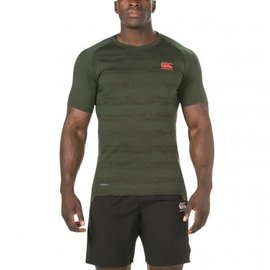 Canterbury Canterbury Mens Vapodri Performance Cotton Tee, Urban Khaki Marl (2018)