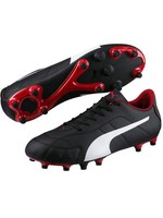 Puma Puma Classico FG Junior Boot, Black/White/Red