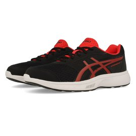 Asics Asics Stormer 2 GS Kids Running Shoe (2018) Black/Red Alert