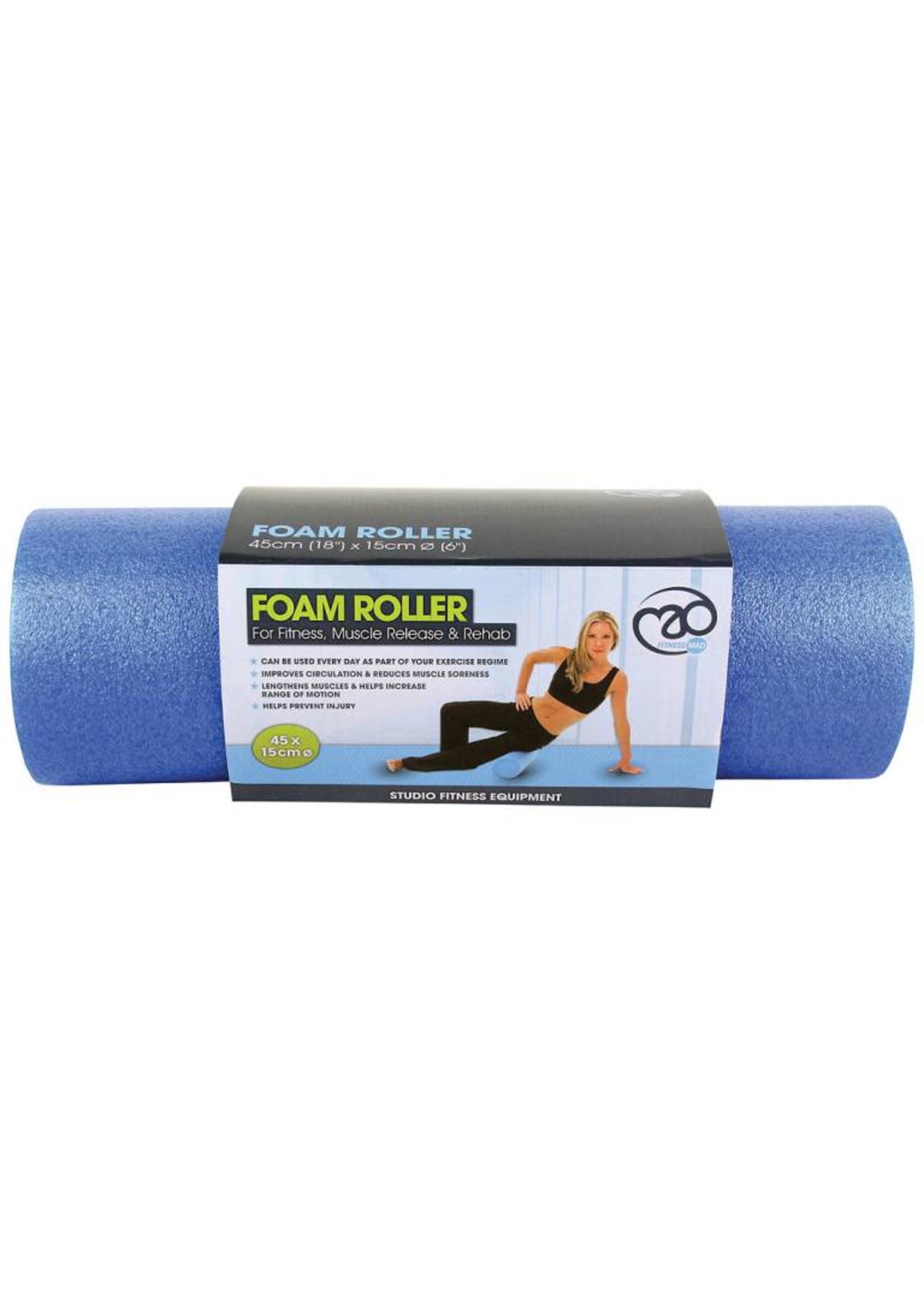 "Fitness Mad Foam Roller 18"""