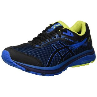 Asics Asics GT-1000 7 G-TX Mens Running Shoe, Black/Race Blue (2019)
