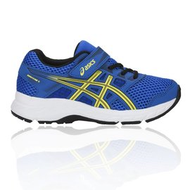 Asics Asics Gel-Contend 5 PS Junior Shoe, Illusion Blue/Lemon Spark (2019)