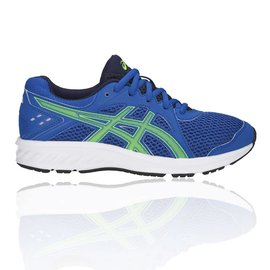 Asics Asics Jolt 2 GS Junior Shoe , Imperial/Green Gecko (2019)