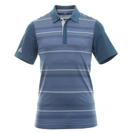Adidas Adidas Golf Ultimate365 Mens Novelty Stripe Polo