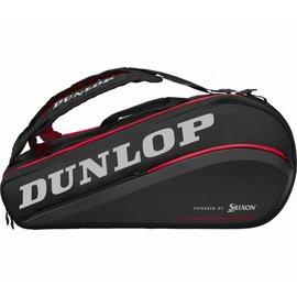 Dunlop Srixon Dunlop Tac CX Performance Thermo 9 Racket Bag, Black/Red