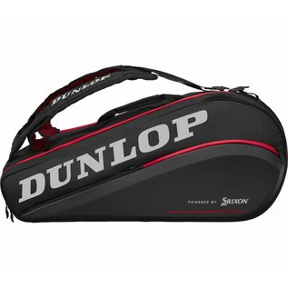 Dunlop Srixon Dunlop-Srixon Tac CX Performance Thermo 9 Racket Bag, Black/Red