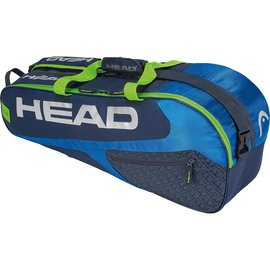 Head Head Elite Combi 6 Racket Bag, Blue/Green (2019)