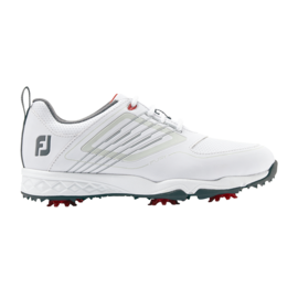 Footjoy FootJoy Fury Junior Golf Shoe (2019) White/Silver