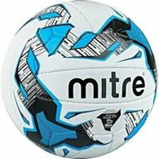 mitre Mitre Malmo Training Football White/Blue 5