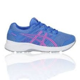 Asics Asics Gel-Contend 5 PS Junior Shoe, Blue Coast/Hot Pink