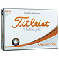 Titleist Titleist Velocity Dozen Pack Golf Balls (2019) - White