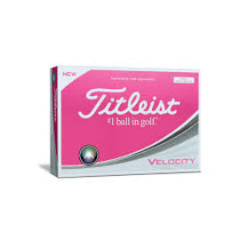 Titleist Titleist Velocity Dozen Pack Golf Balls (2019) - Pink