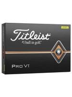 Titleist Titleist ProV1 Dozen Pack Golf Ball (2019) - Yellow