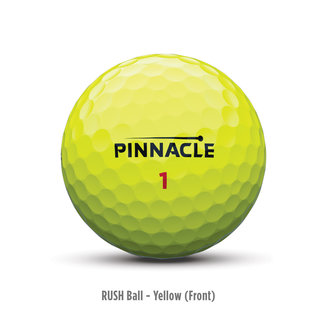 Titleist Pinnacle Rush 15 Pack Golf Balls (2019) - Yellow
