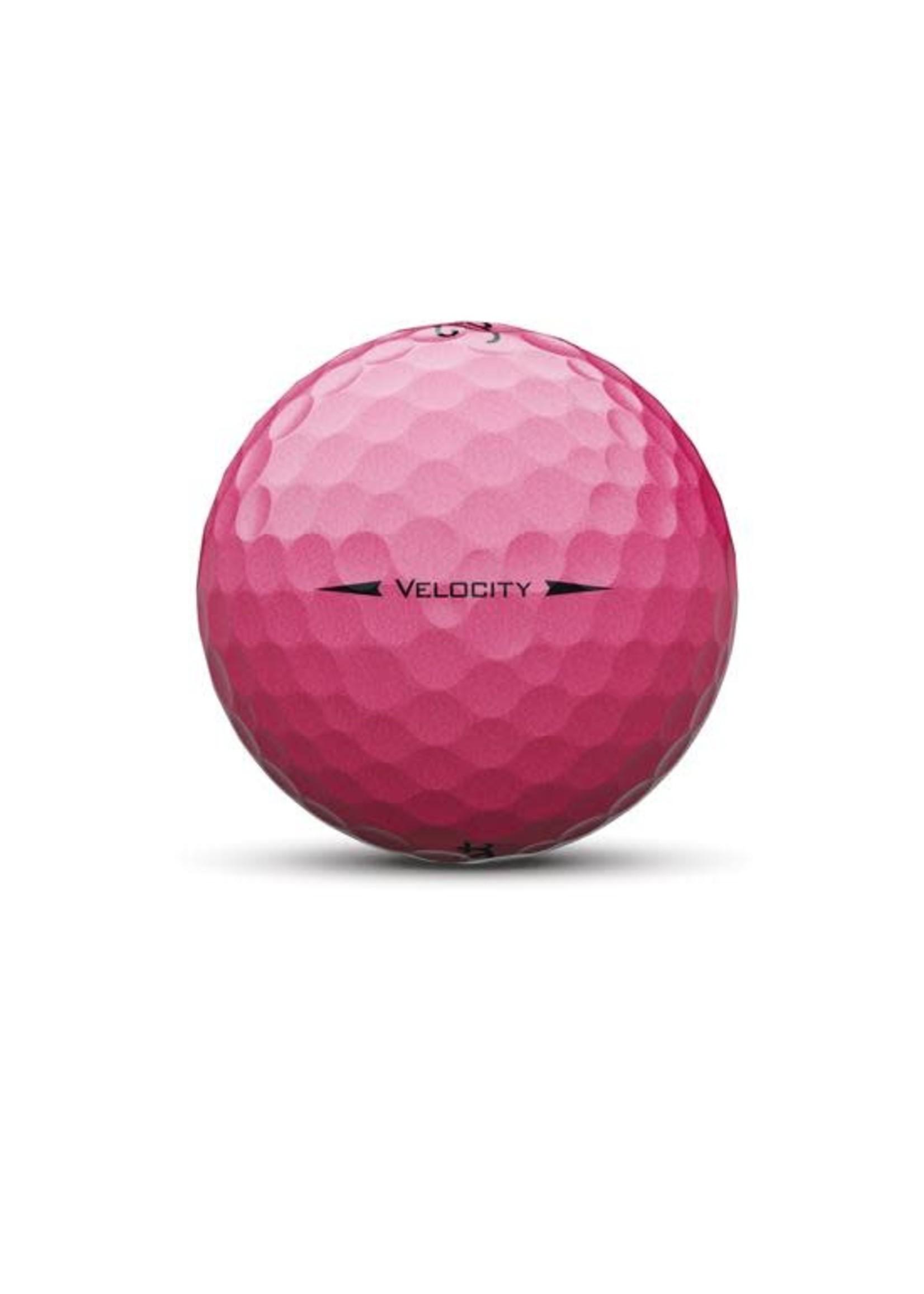 Titleist Titleist Velocity Dozen Pack Golf Balls (2020) - Pink