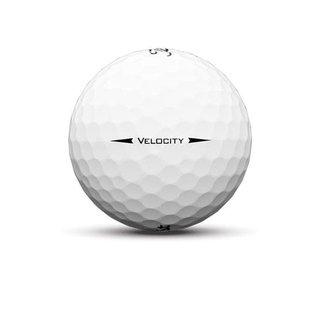 Titleist Titleist Velocity 3 Pack Golf Balls (2019) - White