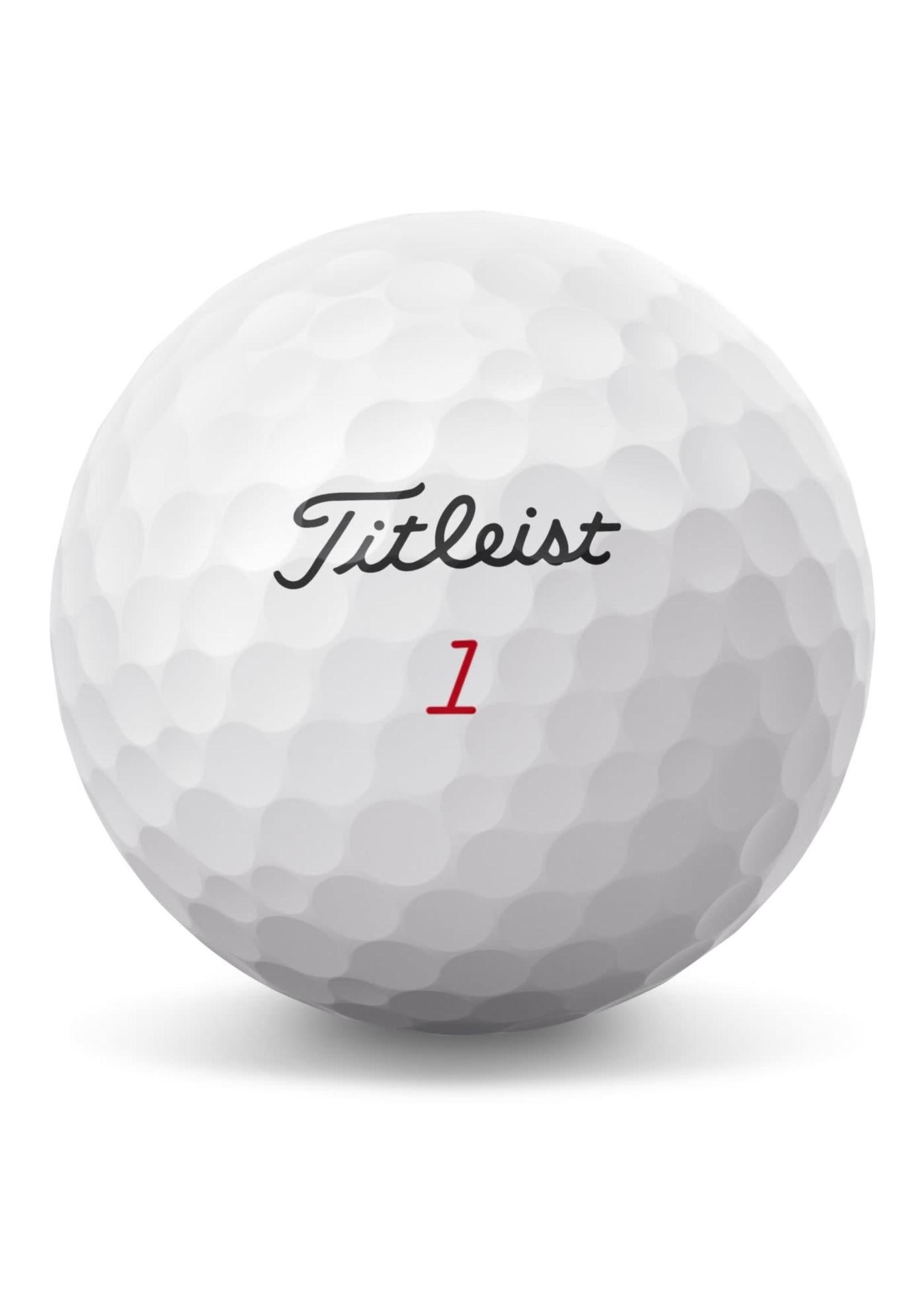 Titleist Titleist ProV1x 3 Pack Golf Balls (2021) - White