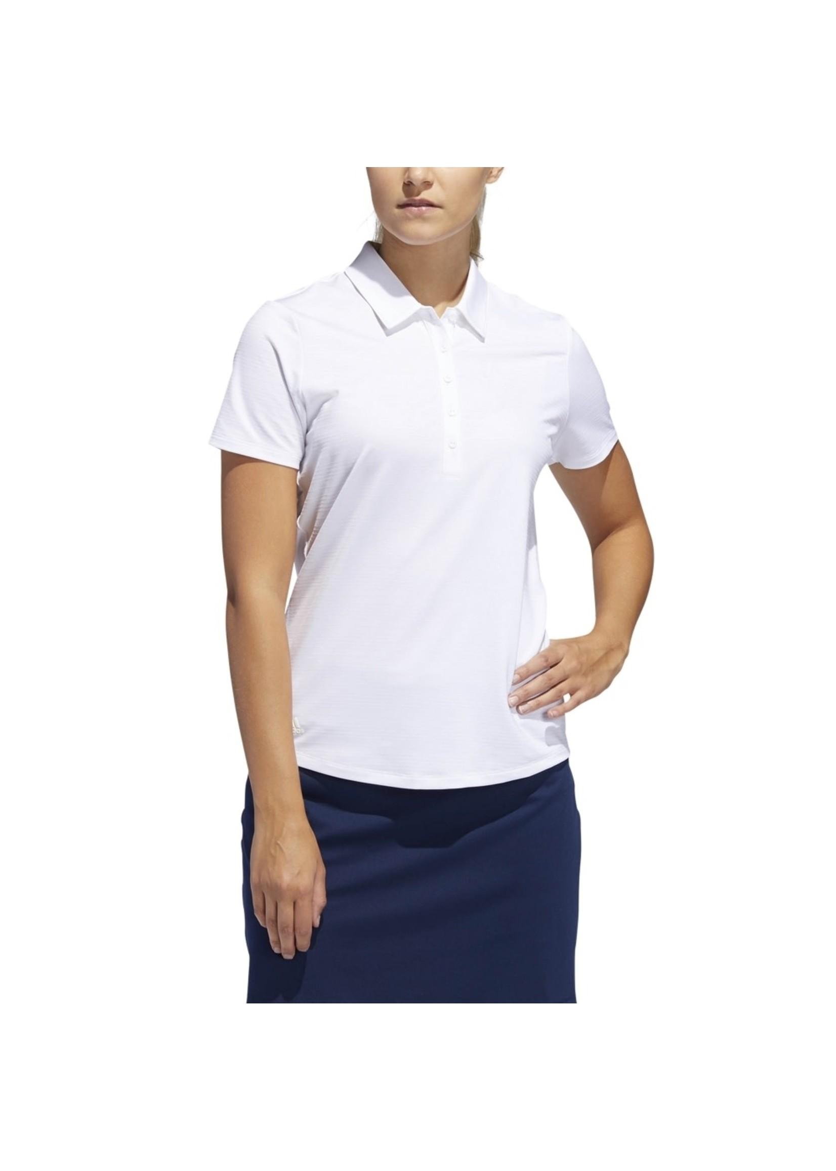 Adidas Adidas Ladies Microdot Golf Polo Shirt (2019)