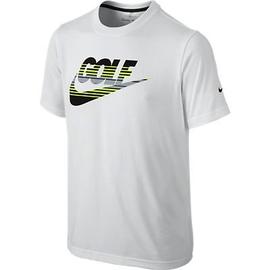 Nike Boys Golf Amplify T-Shirt White XL