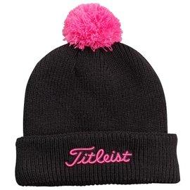 Titleist Titleist Beanie Hat, Black/Pink