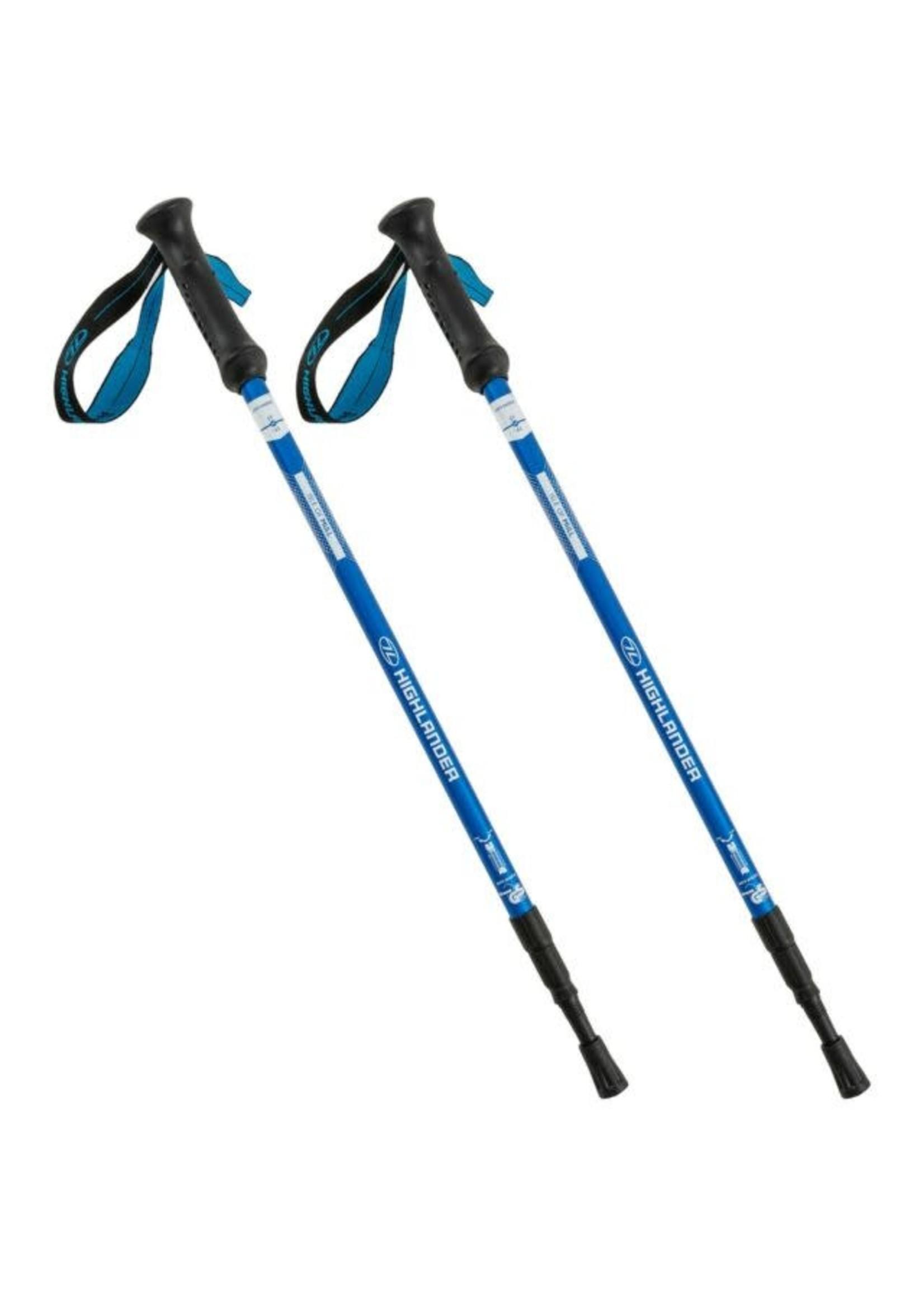 Highlander Highlander Mull 3 Section Walking Poles (pair)